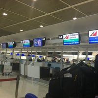 Photo taken at Philippine Airline Check-in Counter A by Ryan D. on 6/14/2013