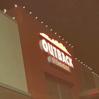 Photo taken at Outback Steakhouse by Gillian W. on 12/12/2016