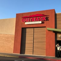 Photo taken at Outback Steakhouse by Gillian W. on 5/25/2017