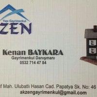 Photo taken at akzen gayrimenkul by Kenan B. on 2/23/2014