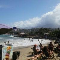 Photo taken at Playa Marina Grande by Luis D. on 12/26/2015