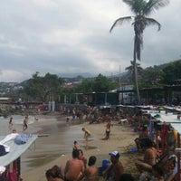 Photo taken at Playa Marina Grande by Luis D. on 11/28/2015