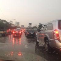 Photo taken at Prasert-Manukitch Road by ChanYa on 8/27/2014