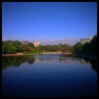 Photo taken at Laguna Parque de Los Reyes by Luis A. on 10/23/2014
