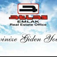 Photo taken at Atlas Emlak Real Estate Office by Bülent K. on 7/10/2014