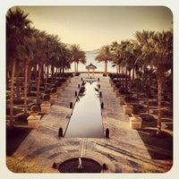 1/17/2013 tarihinde Mohamed H.ziyaretçi tarafından One and Only Royal Mirage Resort'de çekilen fotoğraf