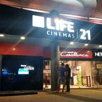Photo taken at LIFE Cinemas 21 by Federico N. on 3/7/2015
