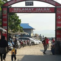 Photo taken at Pelabuhan Penajam by Joe W. on 9/4/2015