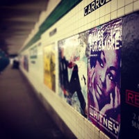 Photo taken at MTA Subway - Carroll St (F/G) by Laura S. on 2/25/2013