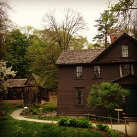 Photo taken at Louisa May Alcott's Orchard House by Laura S. on 5/11/2013