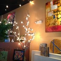 Photo taken at Sleeping Moon Cafe by Sunshine B. on 1/28/2013