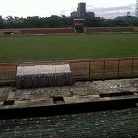 Photo taken at Stadion Andi Mattalatta (Mattoangin) by Sahari S. on 11/2/2013