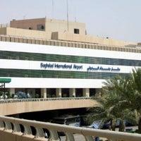 Photo taken at Baghdad International Airport (BGW) by Burak L. on 4/9/2014