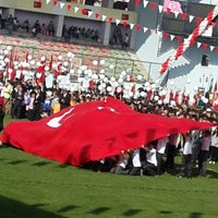 Photo taken at Maltepe Hasan Polat Stadı by Canan O. on 10/29/2013