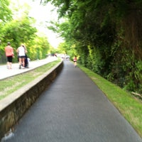 Photo taken at Katy Trail by Mike W. on 4/23/2013