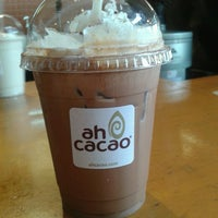 Photo taken at Ah Cacao Chocolate Café by Ivonne E. on 5/27/2013