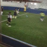 Photo taken at CJU Soccer 5 by Rodrigo A. on 10/11/2013