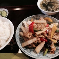 Photo taken at 中華料理 菜香 by Sheen on 4/21/2014