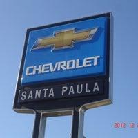 Photo taken at Santa Paula Chevrolet by Santa Paula Chevrolet on 9/27/2013