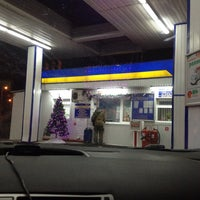 "Photo taken at АЗС ""Н-1"" by Юлия 👁🐙👁 Х. on 12/28/2014"