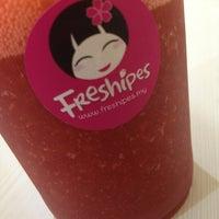 Photo taken at Freshipes by Aris T. on 3/27/2013