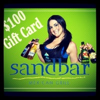 Photo taken at Sandbar Mexican Grill by Wetextdog on 11/20/2012