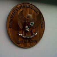 Photo taken at Kedutaan Besar Republik Indonesia by Martin H. on 3/25/2013