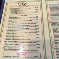Photo taken at Mizu Sushi by Donna S. on 8/12/2016