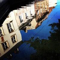 Photo taken at Augustinerplatz by David R. on 9/18/2012