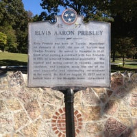 Photo taken at Elvis Presley Boulevard by Chrissie O. on 10/22/2013