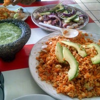 Photo taken at Mariscos Changuirongo by Joel S. on 6/11/2015