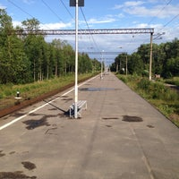 Photo taken at Ж/Д платформа Рахья by Андрей М. on 7/19/2015