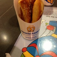 Photo taken at Auntie Anne's by Mike D. on 1/13/2013