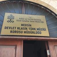 Photo taken at mersin devlet klasik turk muzigi korosu mudurlugu by Mustafa M. on 3/21/2017