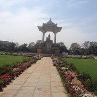 Photo taken at Statue Circle by Sayantani D. on 3/13/2015