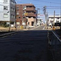 Photo taken at 車通り踏切 by きょお on 3/18/2014