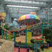 Photo taken at Nickelodeon Universe® by Cansu E. on 4/14/2013