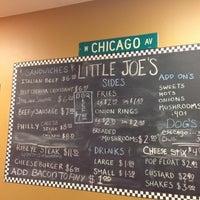 Photo taken at Little Joe's Italian Beef by Chilly C. on 4/16/2013