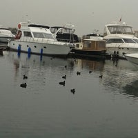 Photo taken at Ataköy Marina B Punton'u by Ahmet A. on 1/3/2014