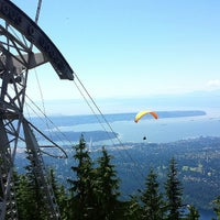 Photo taken at Top of Grouse Grind by Johnny V. on 7/6/2013