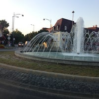 Photo taken at Szökőkutas körforgalom by Árpi D. on 7/23/2013