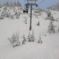Photo taken at Cypress Mountain Ski Area by Kris K. on 12/19/2012