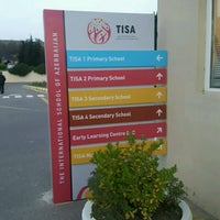 Photo taken at TISA - The International School of Azerbaijan by Cheryl J. on 11/14/2016