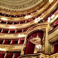 Photo taken at Teatro alla Scala by Anna S. on 3/9/2013
