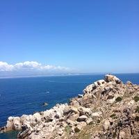 Photo taken at Capo Testa Spiaggia di Levante by Doris H. on 5/24/2014