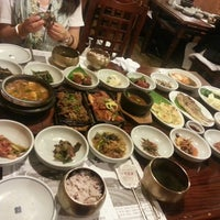 Photo taken at 토담골 by Jeannie K. on 7/28/2013