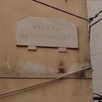 Photo taken at Piazza Giacomo Matteoli by Dario C. on 1/3/2014