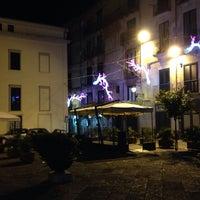 Photo taken at Piazza Giacomo Matteoli by Dario C. on 1/18/2014