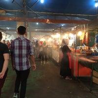 Photo taken at Pasar Malam Saberkas by nadya on 3/11/2016