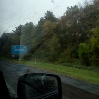 Photo taken at Mass Pike by Elizabeth G. on 9/28/2012